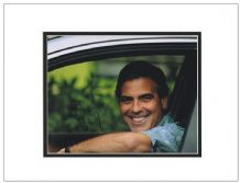 George Clooney Autograph Signed Photo